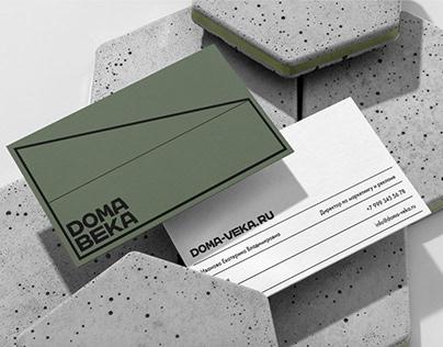 BRANDING :: Construction company Doma Veka
