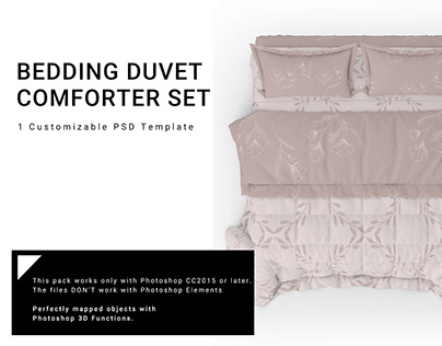 NEW FOR CREATIVE MARKET 19 QUILTED DUVET COMFORTER