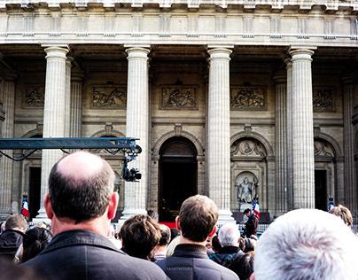 Président Jacques Chirac's Burial, Paris, 31Sep19