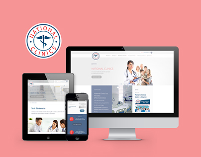 NATIONAL CLINICS Web Design