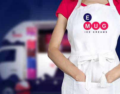 Emug Ice cream - Rebranding