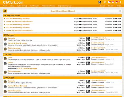 Forum Teması - PSD to CSS