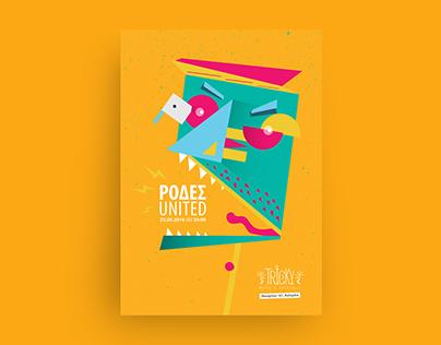 Ρόδες United Poster