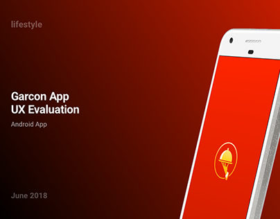 Garcon: UX Evaluation of an android app