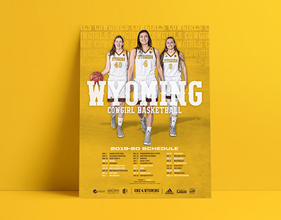 2019-20 WBB Season Prep & print graphics