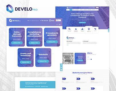 Developro - strona www