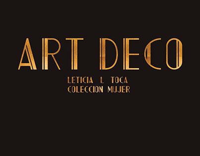 ART DECO_ Womenswear Collection/Colección mujer