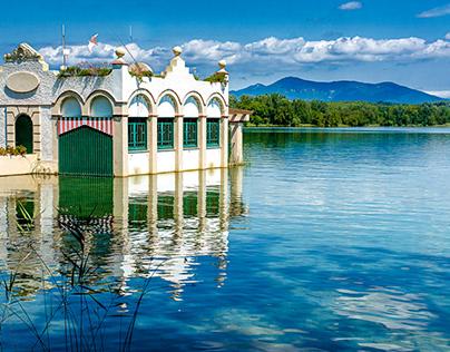 The Banyoles lake