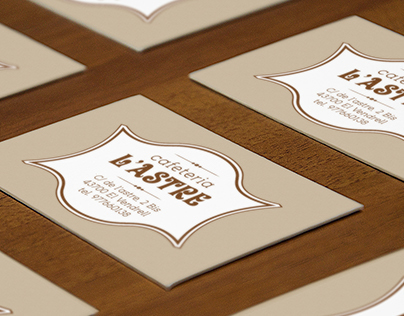 Business Cards Cafeteria L'Astre