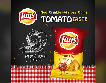 Lay`s Potatoes Chips Tomato Taste