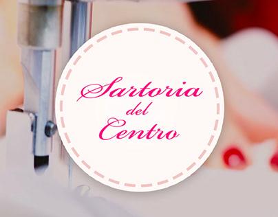 SARTORIA DEL CENTRO - Web Design