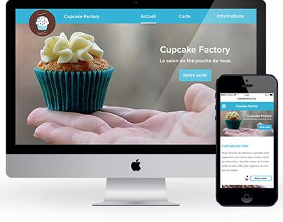 Visual Design - Cupcake Factory