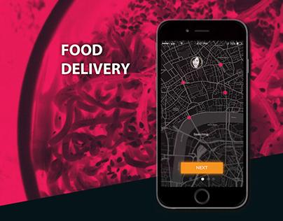 Food Delivery - App UX/UI 2019