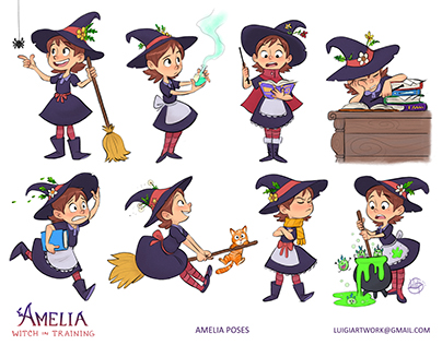 Amelia- Witch in Training