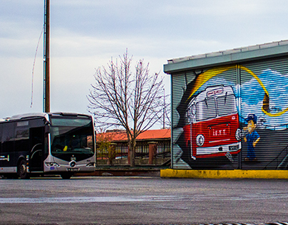 IETT Edirnekapı Garage   Shutter Painting