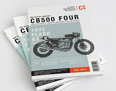 CLASSIC MOTORCYCLE MECHANIC |  MAGAZINE REDESIGN