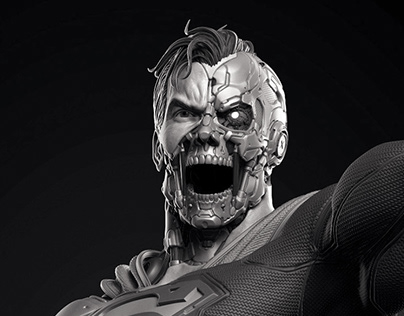Cyborg Superman - Prime 1 Studio