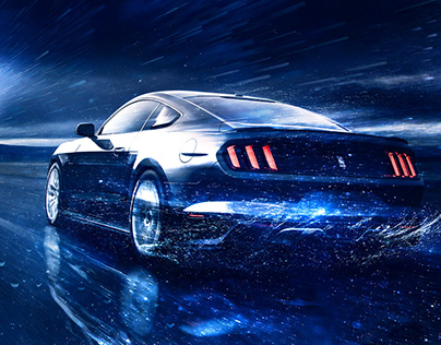 FORD Mustang Key Visual
