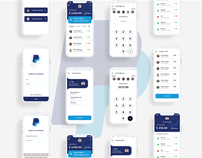 PayPal Redesigned Fin Financial Banking App