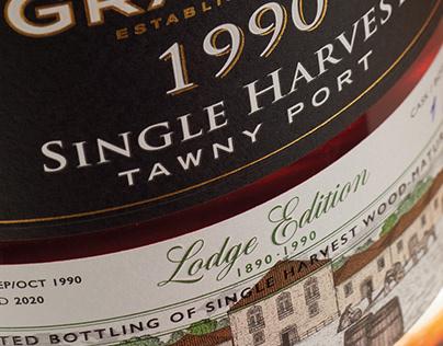 Graham's 1990 Single Harvest Lodge Edition