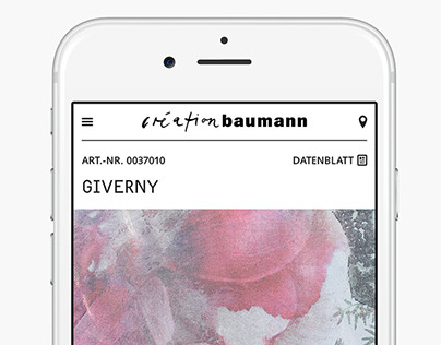 Creation Baumann Website