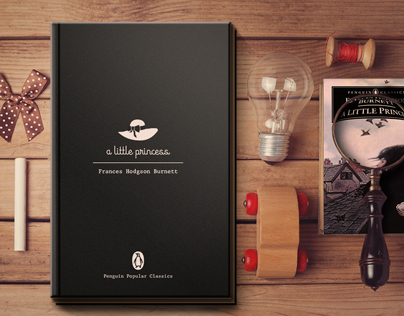 A little princess | Book cover redesign