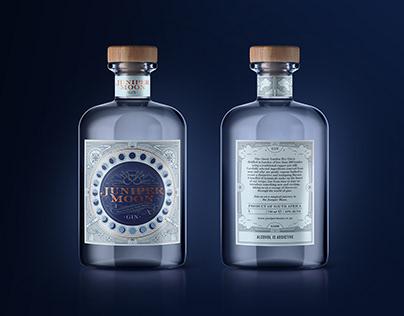 Juniper Moon Gin Packaging