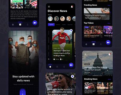 News App Design