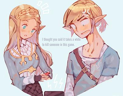 Legend of Zelda ~ Repaint