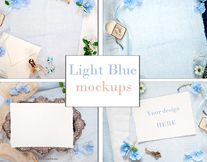 Light Blue Mockups