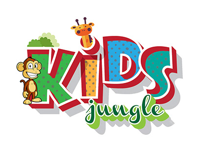 KIDS Jungle - Nursery Logo