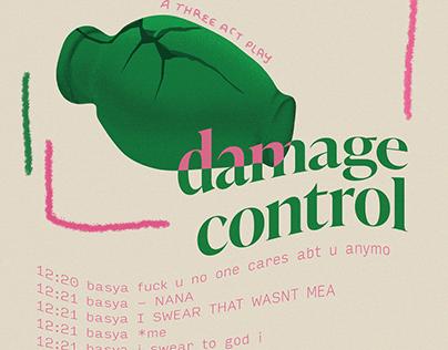 """damage control"" poster"