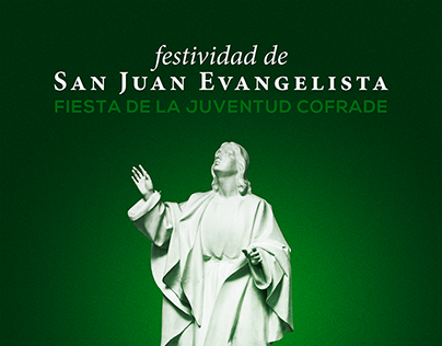 Festividad de San Juan Evangelista 2017 - Cartel