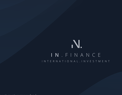 IN. FINANCE   brand and visual identy