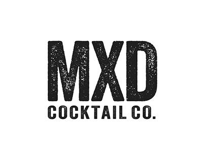 MXD Cocktail Co. Website Concepts