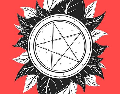 Le Tarot Tricolore: Suit of Pentacles