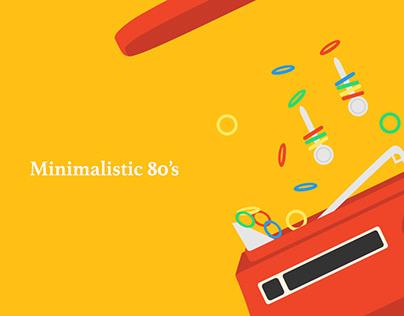 Minimalistic 80s