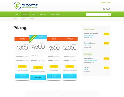 Job Network Design - Alzome