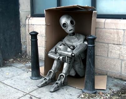 ahd 168. CGI robot.