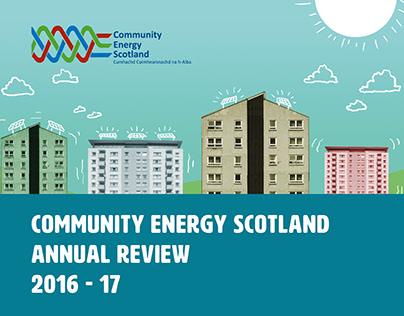 Annual Review 2016 - 17 - Community Energy Scotland