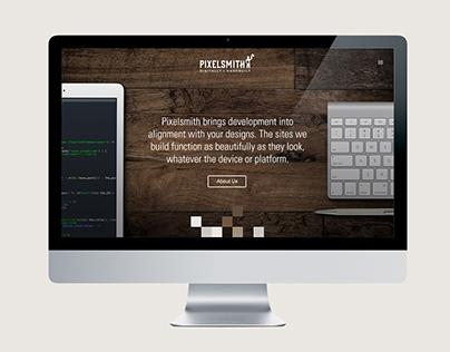 Pixelsmith Website Redesign