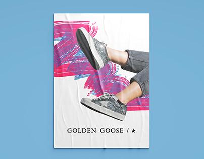 Golden Goose Mock Ad