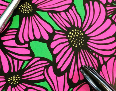 Pink Floral Pattern
