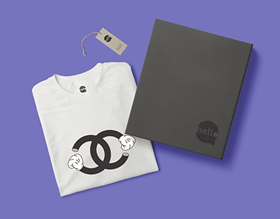 Logo | Hello Tees - Helô Gomes