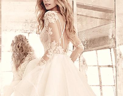 Blushing Illusion: Bridal Trends