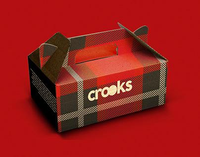 Crooks Cookie Shop - Identidade de Marca