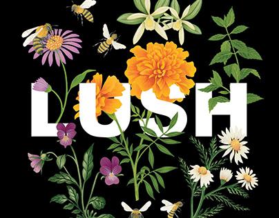 LUSH Self preserving campaign