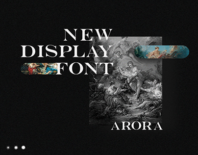 Arora - Display Serif Font