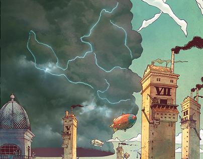 Mythopoeia's Skies of Fire #1