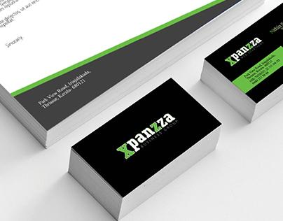 Xpanzza Brand Identity